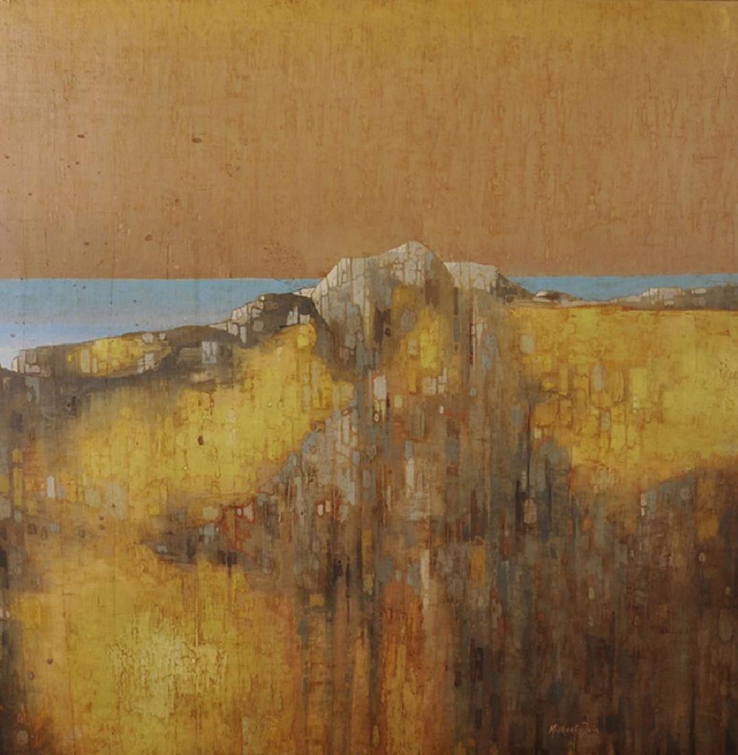 Michael Tain (1927    ) British. A Coastal Landscape,