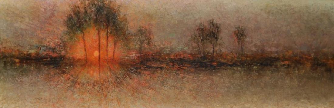 "Michael Tain (1927    ) British. ""Provence, Sunset"","