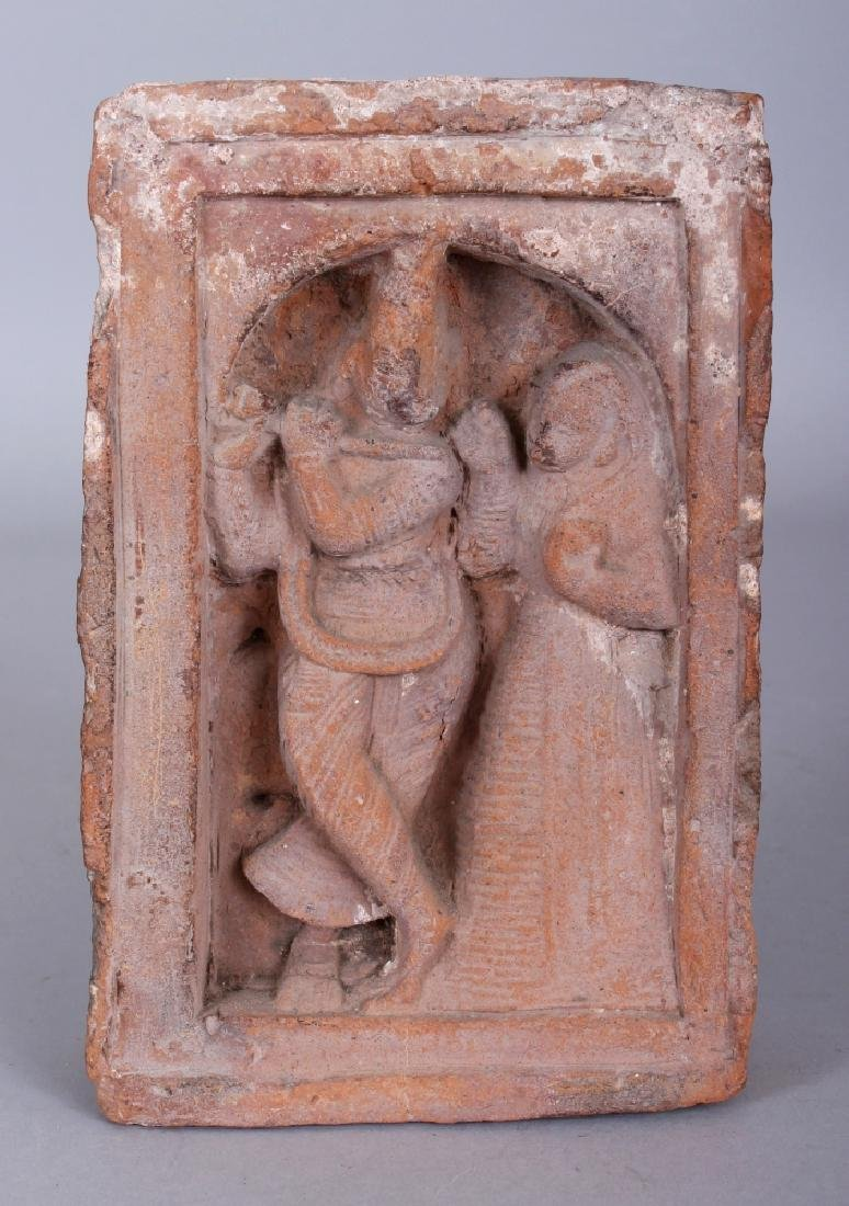 A Small Terracotta Architectural Relief, Bengal,