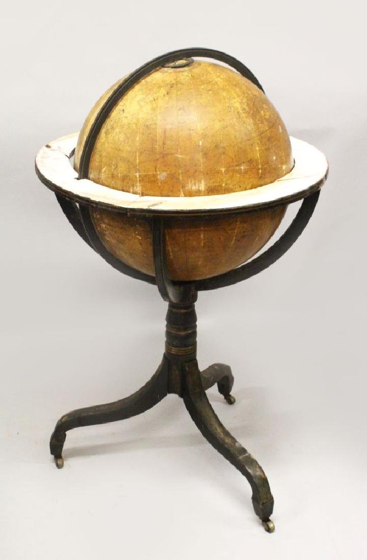 A 19TH CENTURY CARY'S CELESTIAL GLOBE ON STAND, for