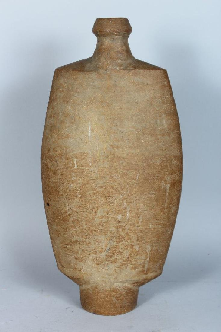 A LARGE STUDIO POTTERY VASE, CIRCA. 1960'S, of Cycladic - 2