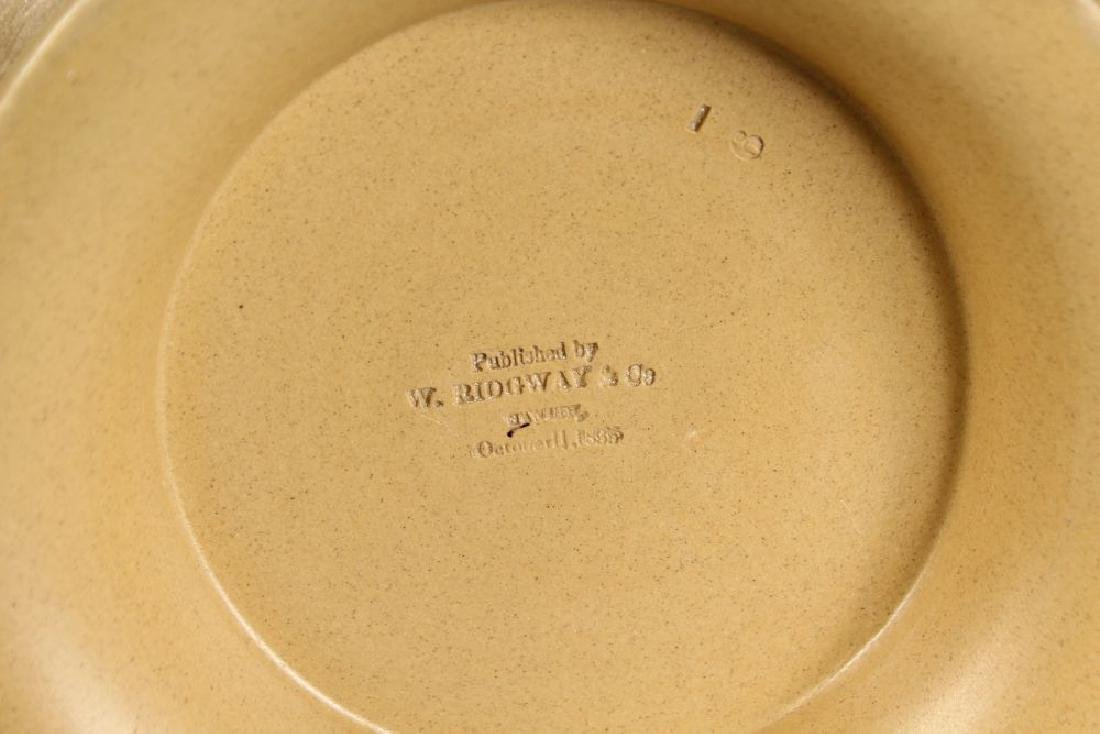 A W. RIDGWAY, SON & CO STONEWARE JUG, Dated Oct. 1835, - 2