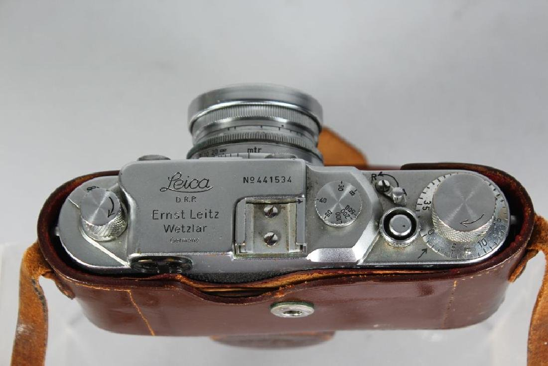 A LEICA CAMERA D.R.P. (ERNST LEITZ), No. 441534, from - 3