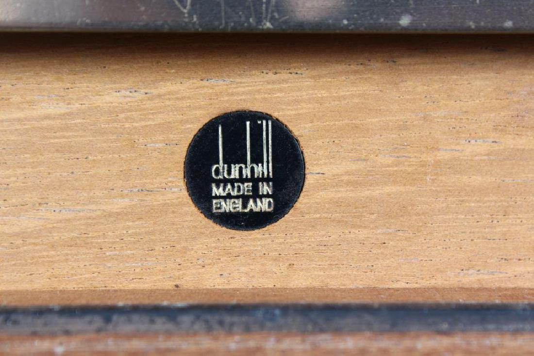 A DUNHILL CIGAR HUMIDOR with approximately fifty Cuban - 2