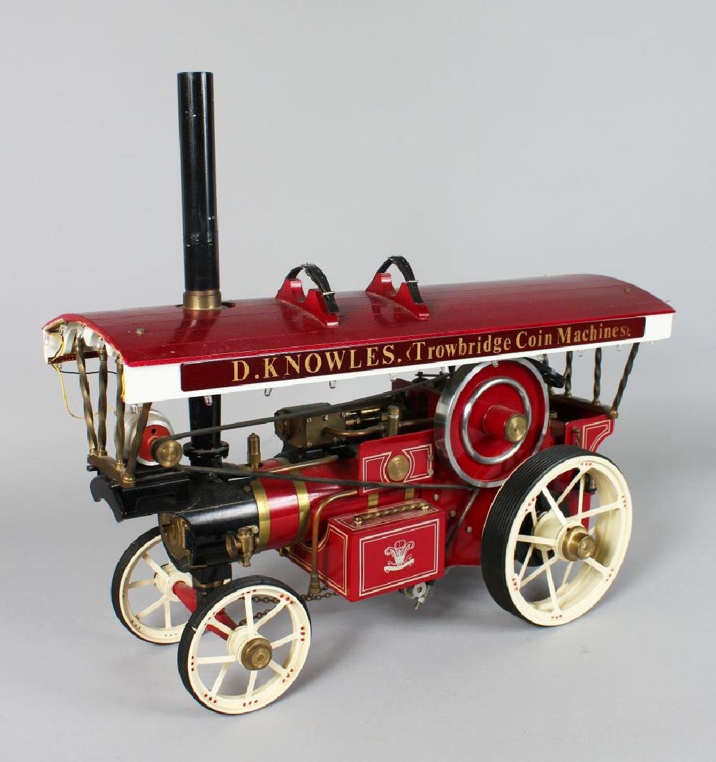 A 'Markie' model of a fairground showman's traction