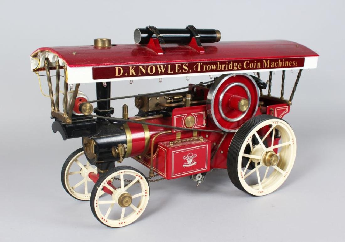 A 'Markie' model of a fairground showman's traction - 2