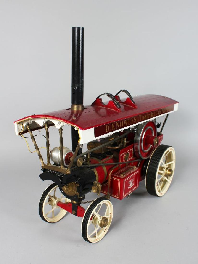 A 'Markie' model of a fairground showman's traction - 4