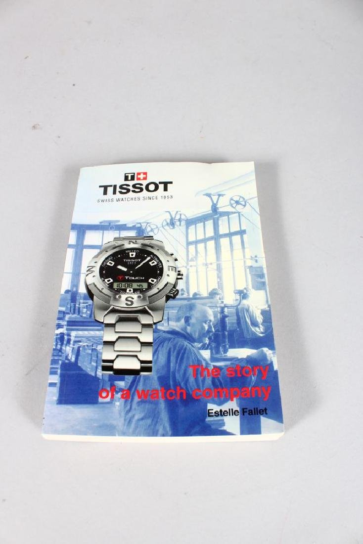 A LADIES TISSOT WATCH in a presentation blue box. - 3