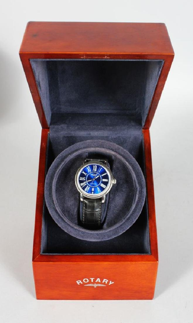 A ROTARY ELITE LIMITED EDITION WATCH, 55/500, automatic