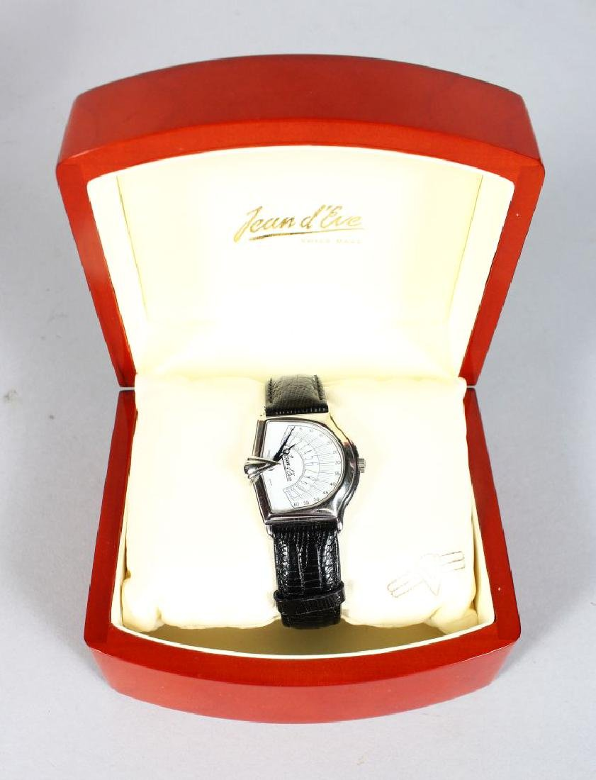A JEAN D'EVE WATCH in a presentation box.