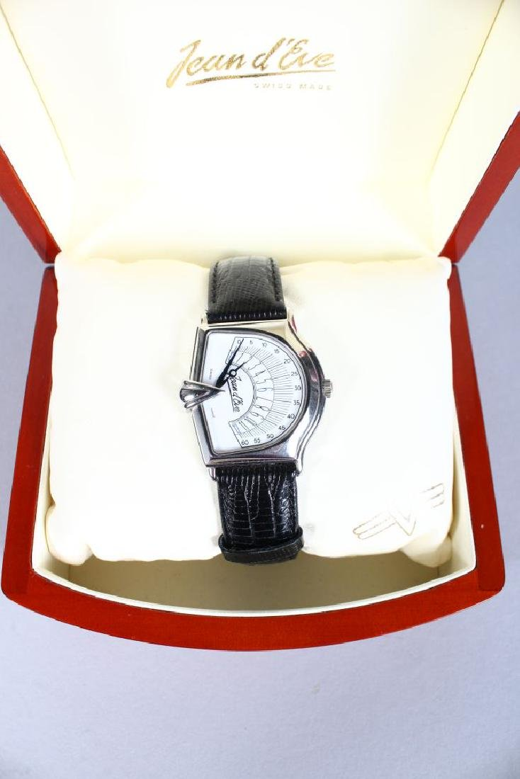 A JEAN D'EVE WATCH in a presentation box. - 2
