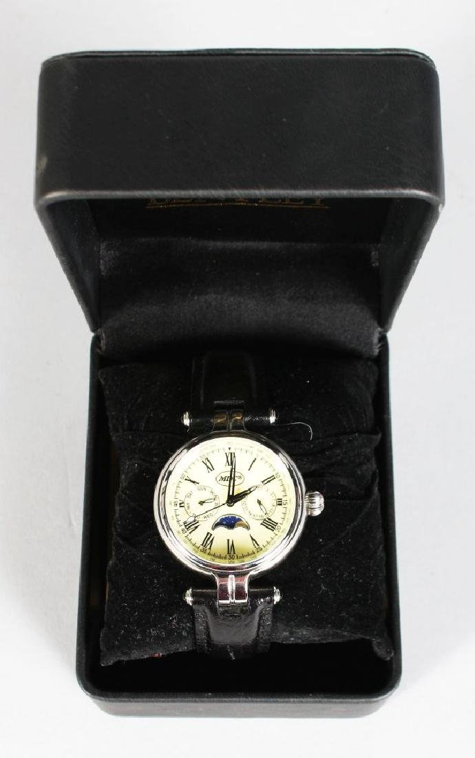 A BROOKS & BENTLEY WATCH in a presentation box.