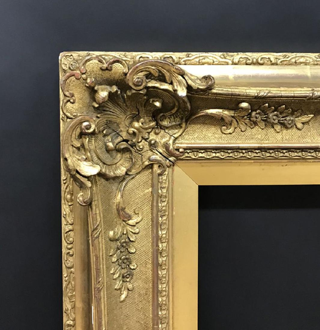 19th Century English School. A Gilt Swept Centres and