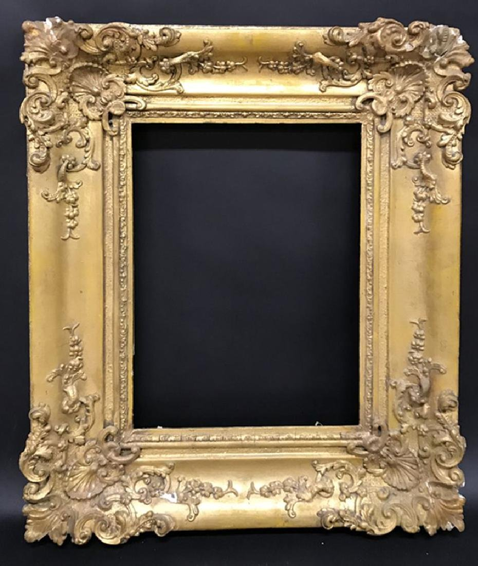 19th Century English School. A Gilt Swept Composition - 2