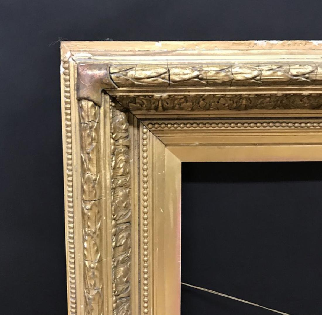 19th Century English School. A Gilt Composition Frame,