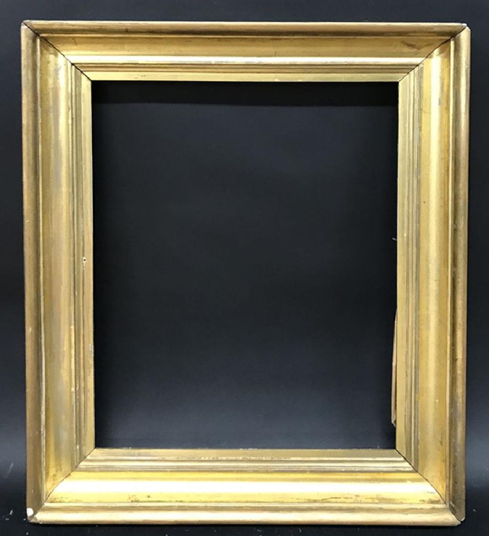 "19th Century English School. A Gilt Hollow Frame, 18"" x - 2"