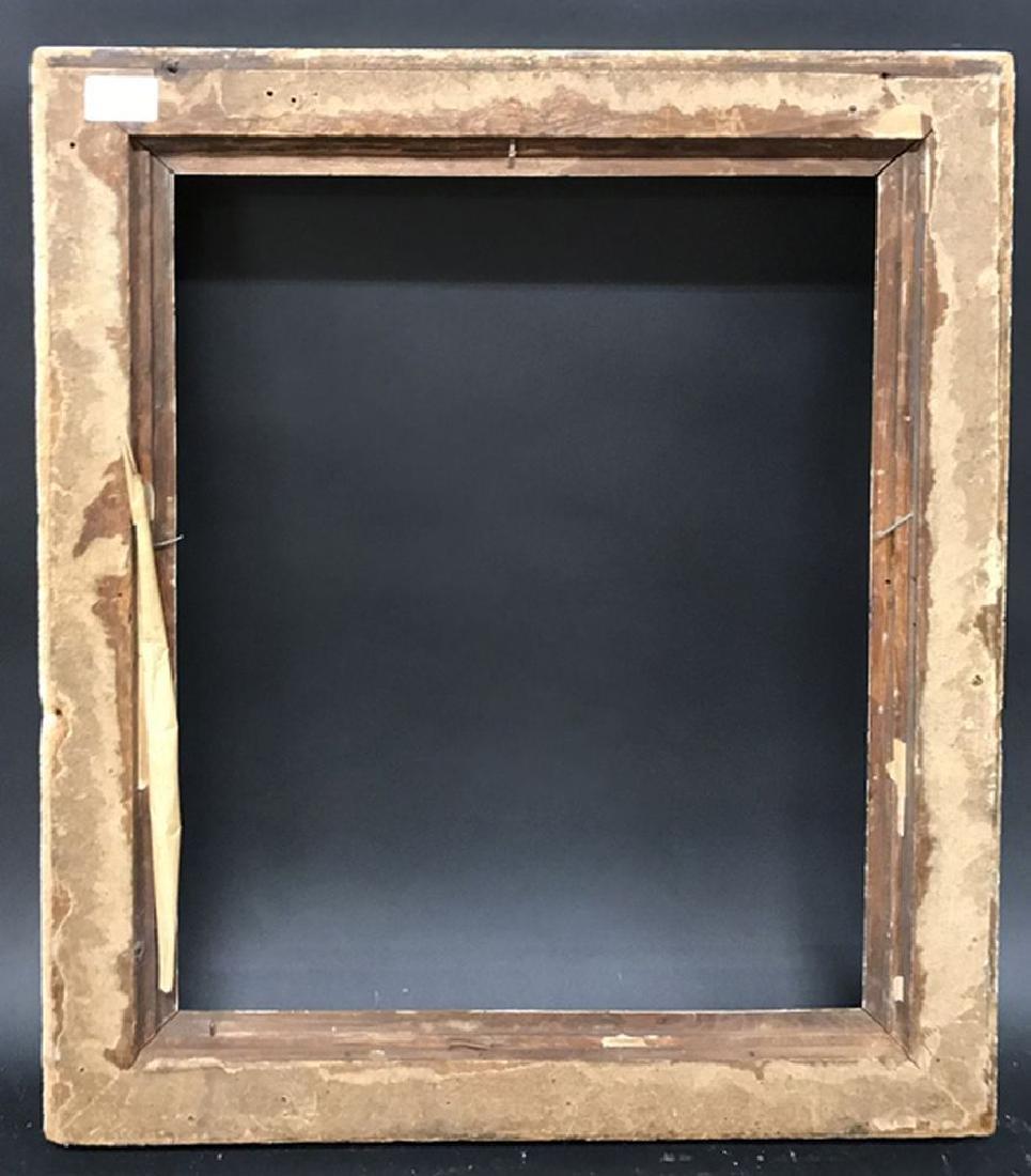 "19th Century English School. A Gilt Hollow Frame, 18"" x - 3"