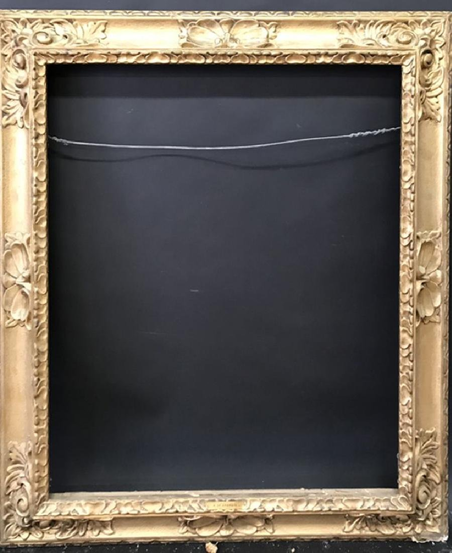 20th Century English School. A Gilt Composition Frame, - 2