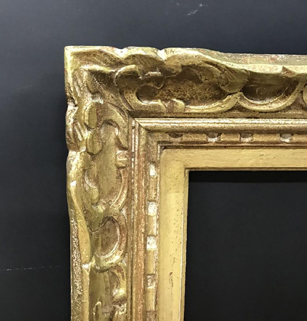 20th Century English School. A Carved and Gilded Frame,