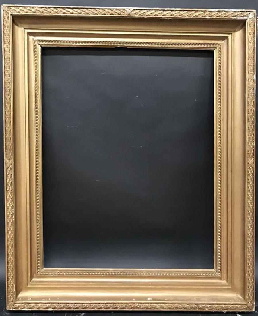 "19th Century English School. A Hollow Gilt Frame, 36"" x - 2"