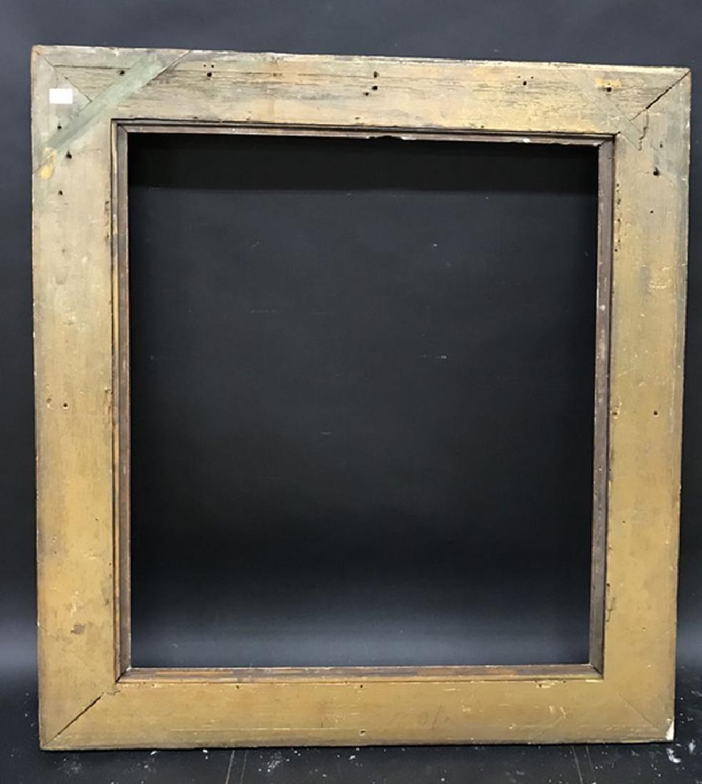 "19th Century English School. A Hollow Gilt Frame, 36"" x - 3"