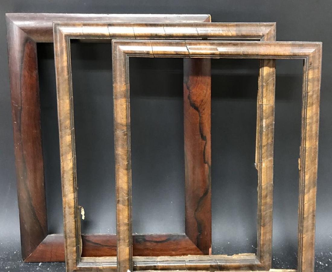 "19th Century English School. A Rosewood Frame, 13.5"" x - 2"