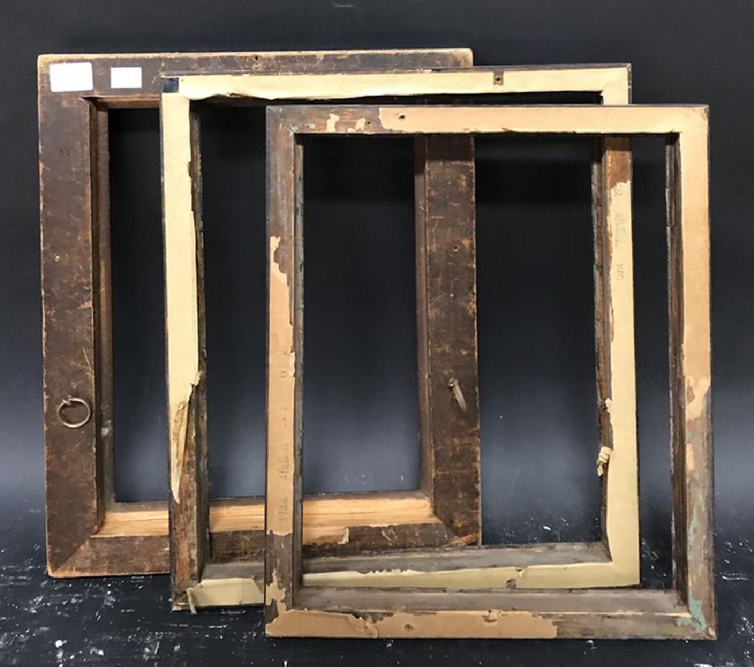 "19th Century English School. A Rosewood Frame, 13.5"" x - 3"
