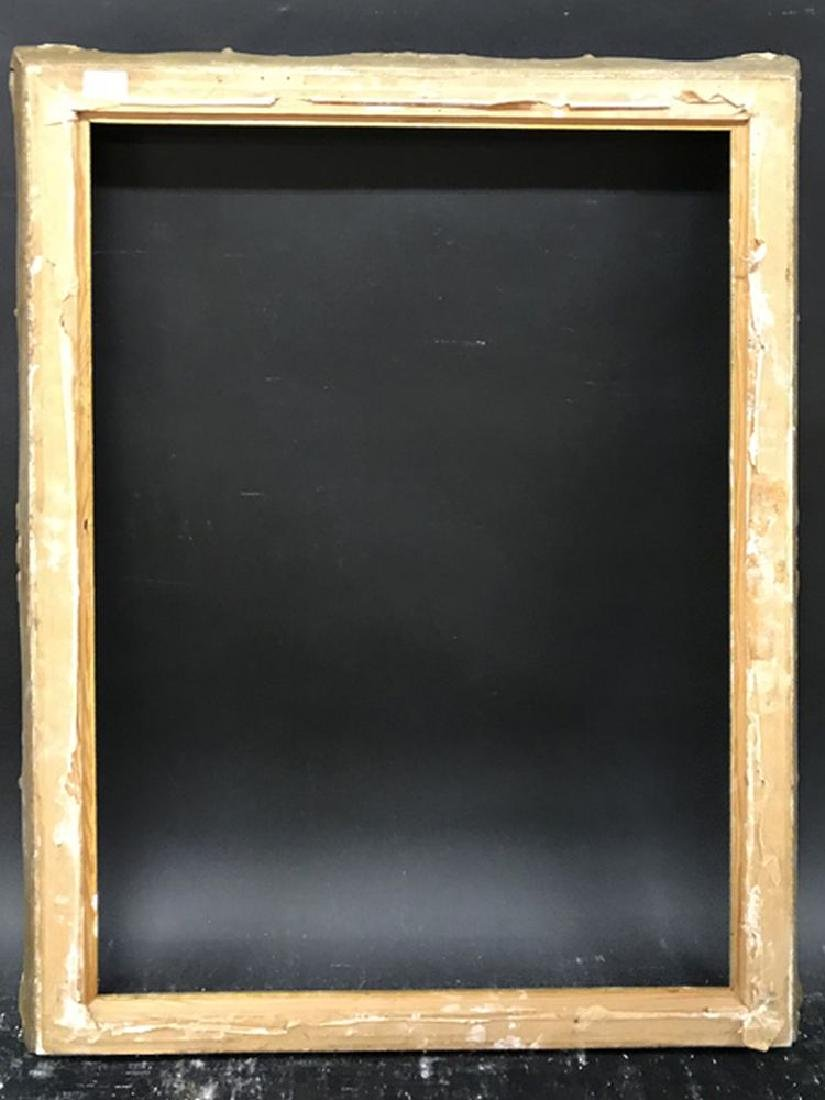 "20th Century English School. A Gilt Swept Frame, 30"" x - 3"