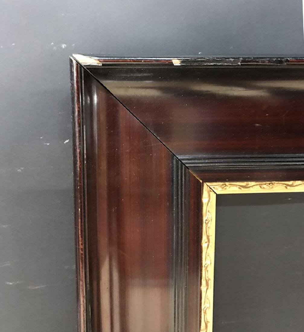 20th Century Continental School. A Lacquered Frame with