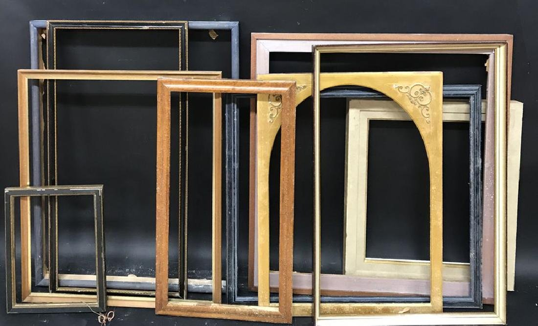 20th Century Continental School. A Gilt Frame with a - 3