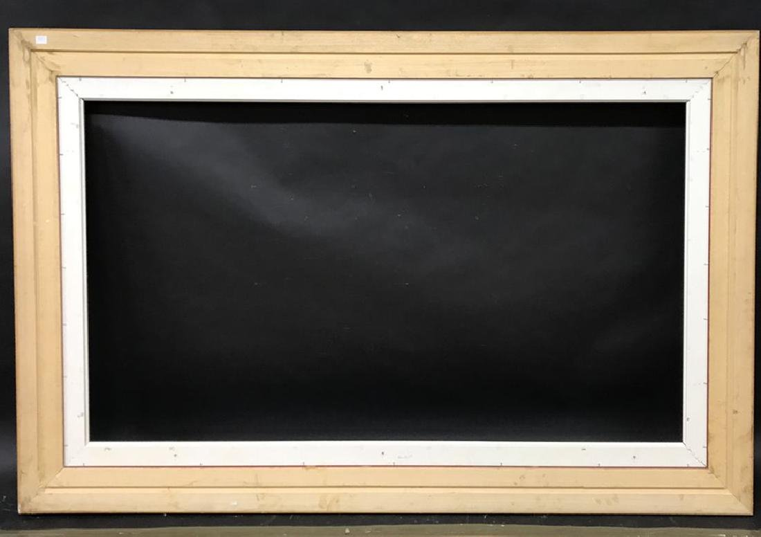 "20th Century European School. A Gilt Frame, 71"" x 39.5"" - 3"
