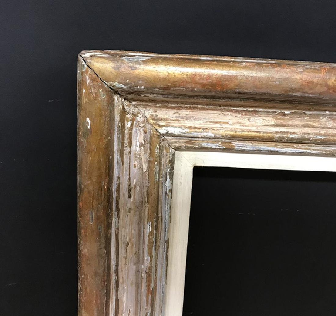 20th Century Continental School. A Gilt Frame with a