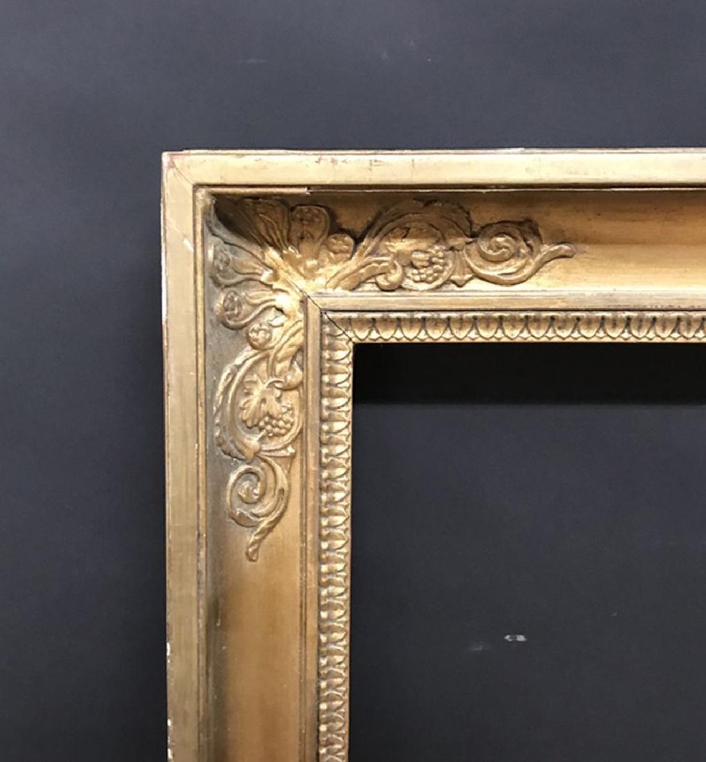 """19th Century French School. A Gilt Frame, 54"""" x 40"""""""