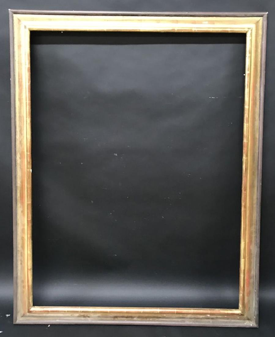 20th Century English School. A Gilt Frame, with painted - 2