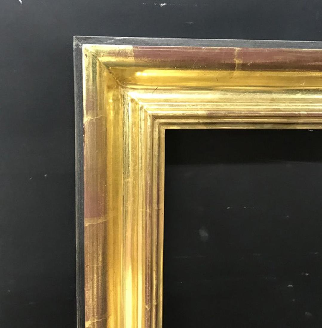 20th Century English School. A Gilded and Black Painted
