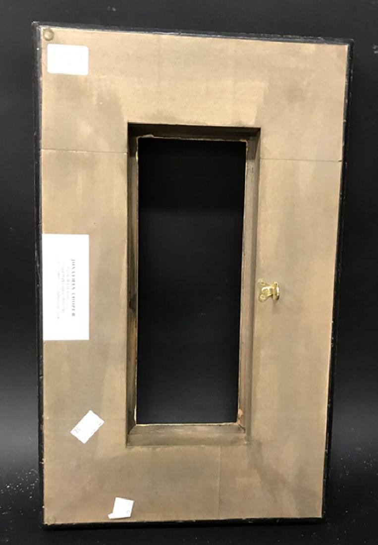 20th Century Italian School. A Painted Black Frame with - 3