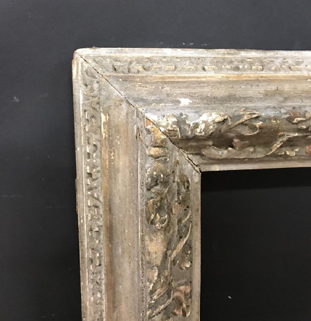 19th Century English School. A Carved Giltwood Frame,