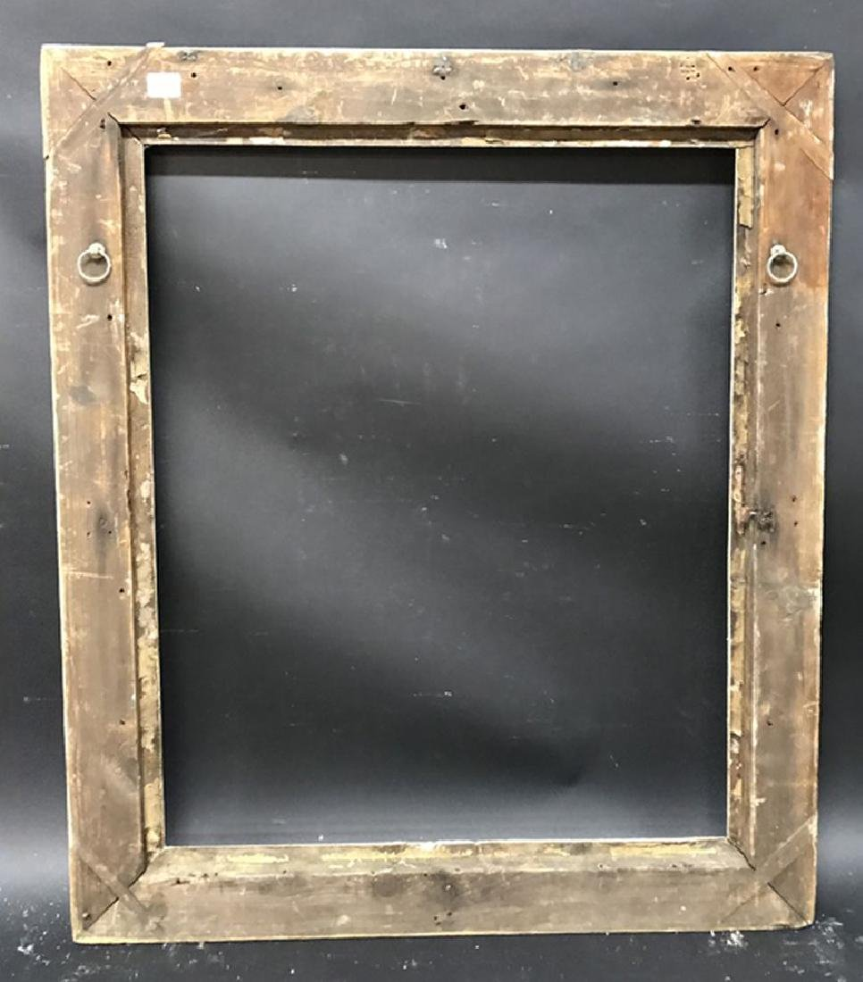 19th Century English School. A Carved Giltwood Frame, - 3