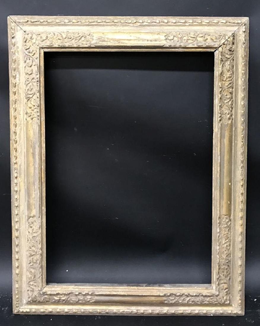 19th Century English School. A Carved Giltwood Frame, - 2