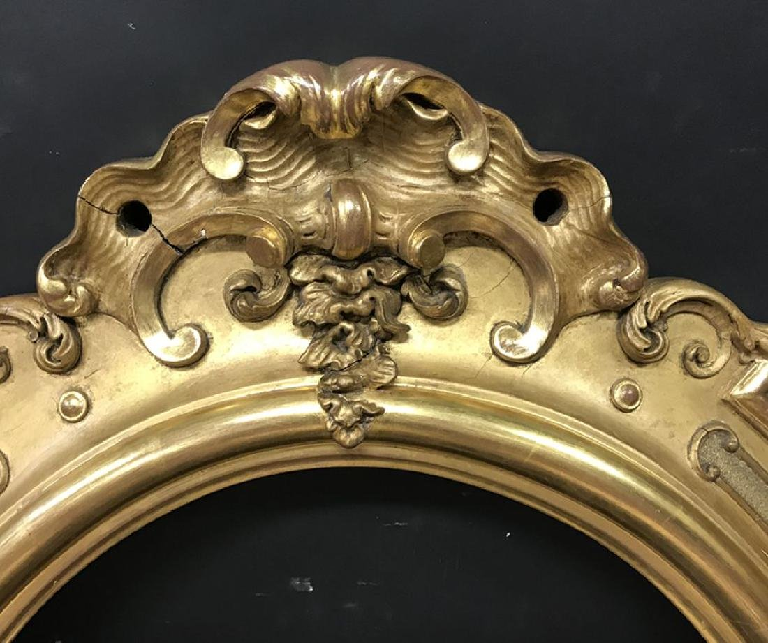 19th Century French School. A Gilt Composition Frame