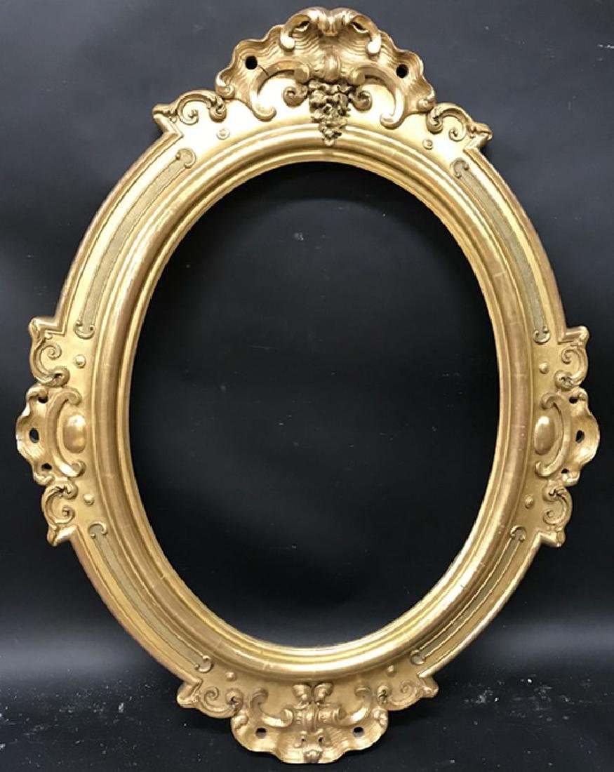 19th Century French School. A Gilt Composition Frame - 2