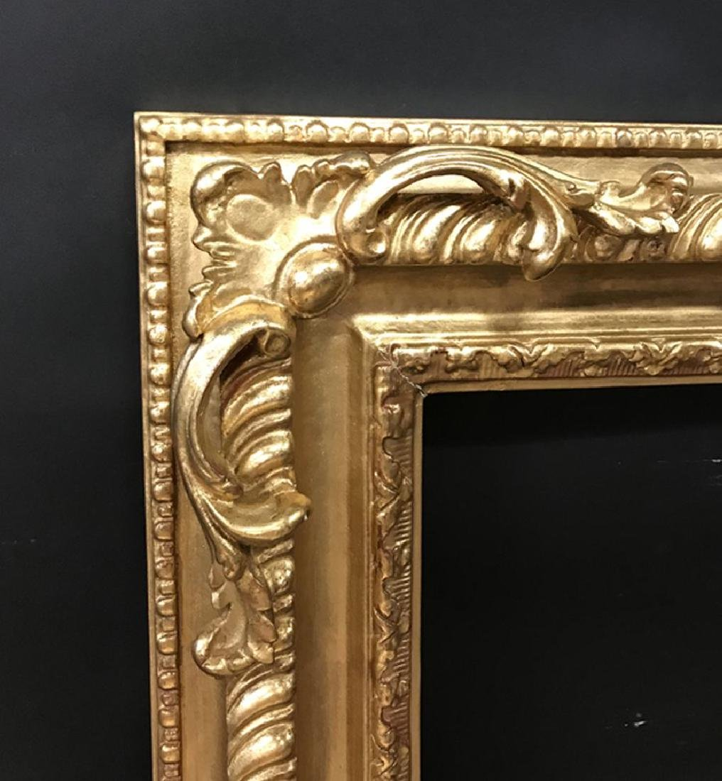 20th- 21st Century English School Style. A Carved Gilt