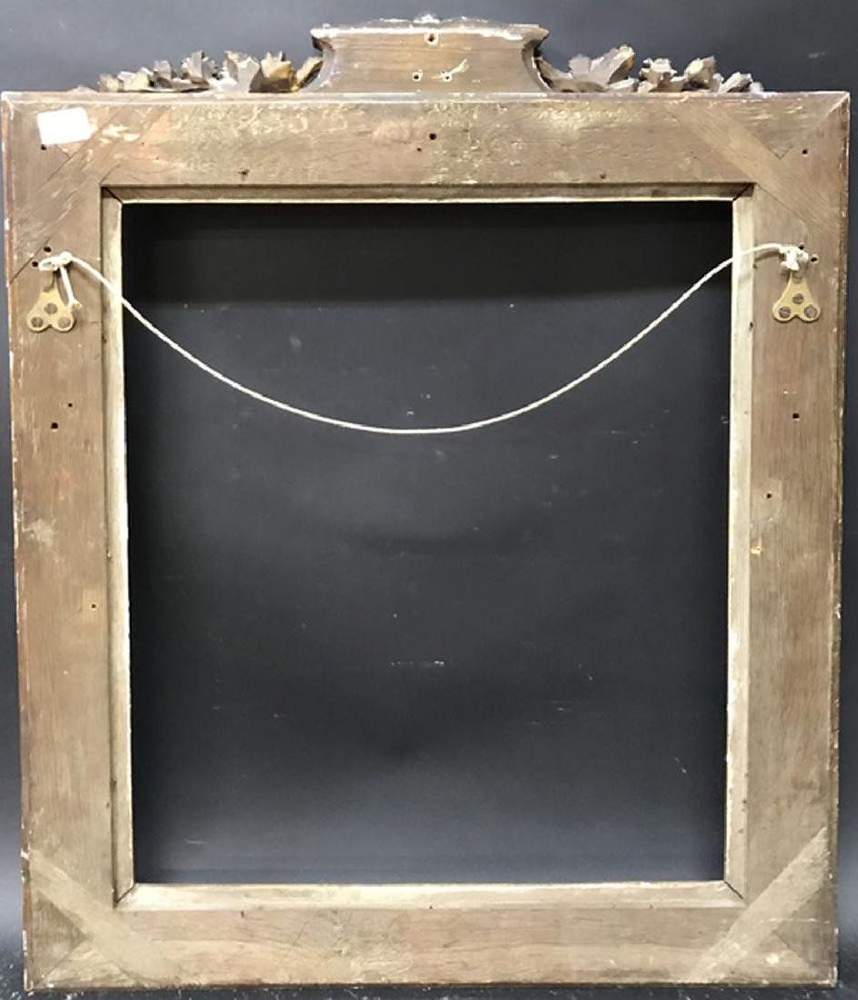 Late 18th Century French School. Carved Gilt Wood Frame - 3