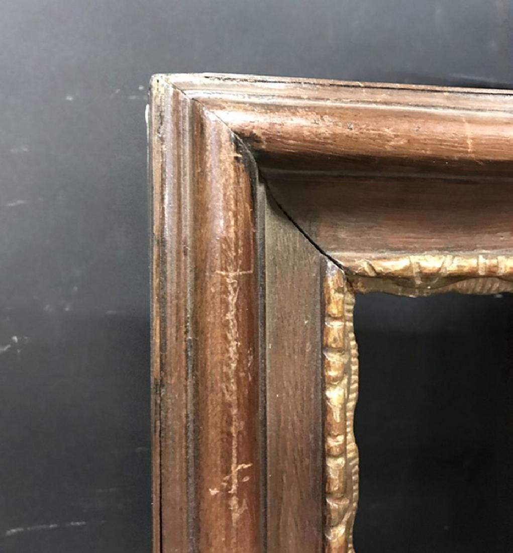 19th Century European School. A Carved Wood Frame with