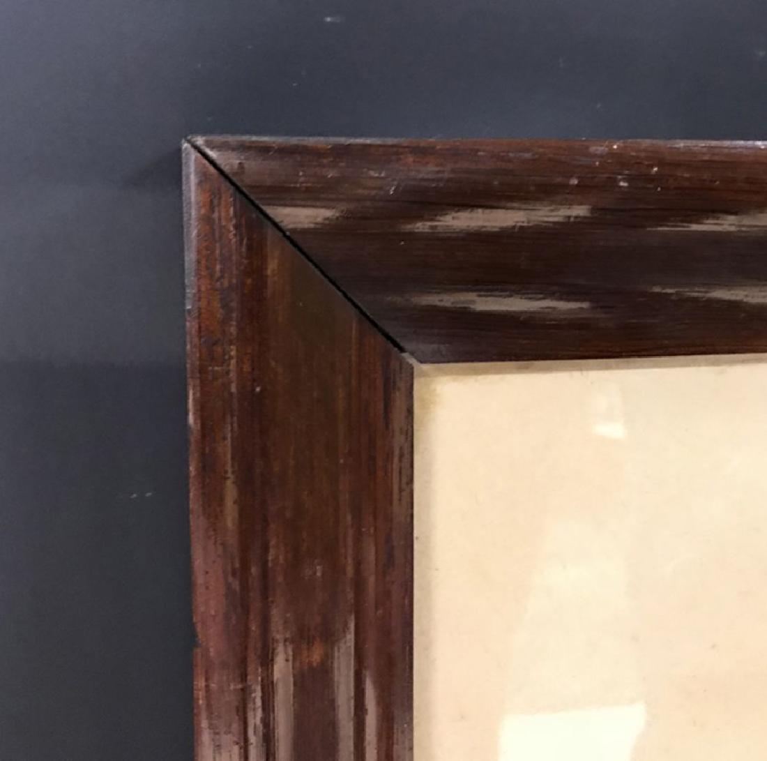 "19th Century English School. A Rosewood Frame, 30"" x"