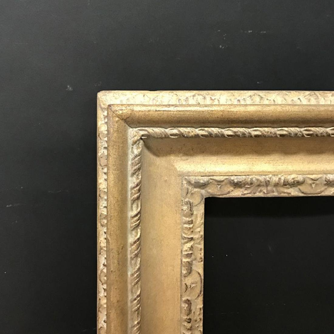 20th Century English School. A Carved Giltwood Frame,