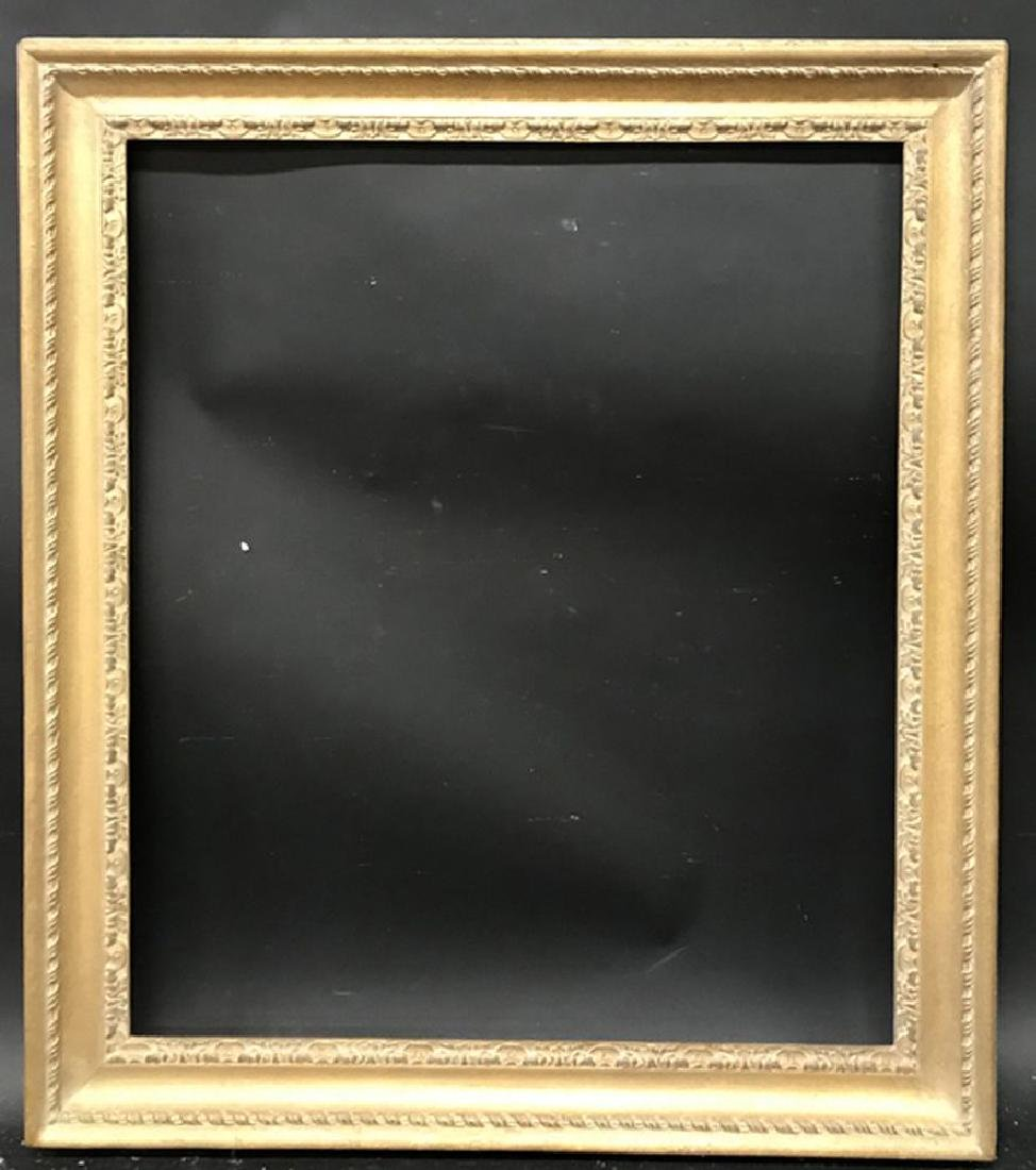 20th Century English School. A Carved Giltwood Frame, - 2