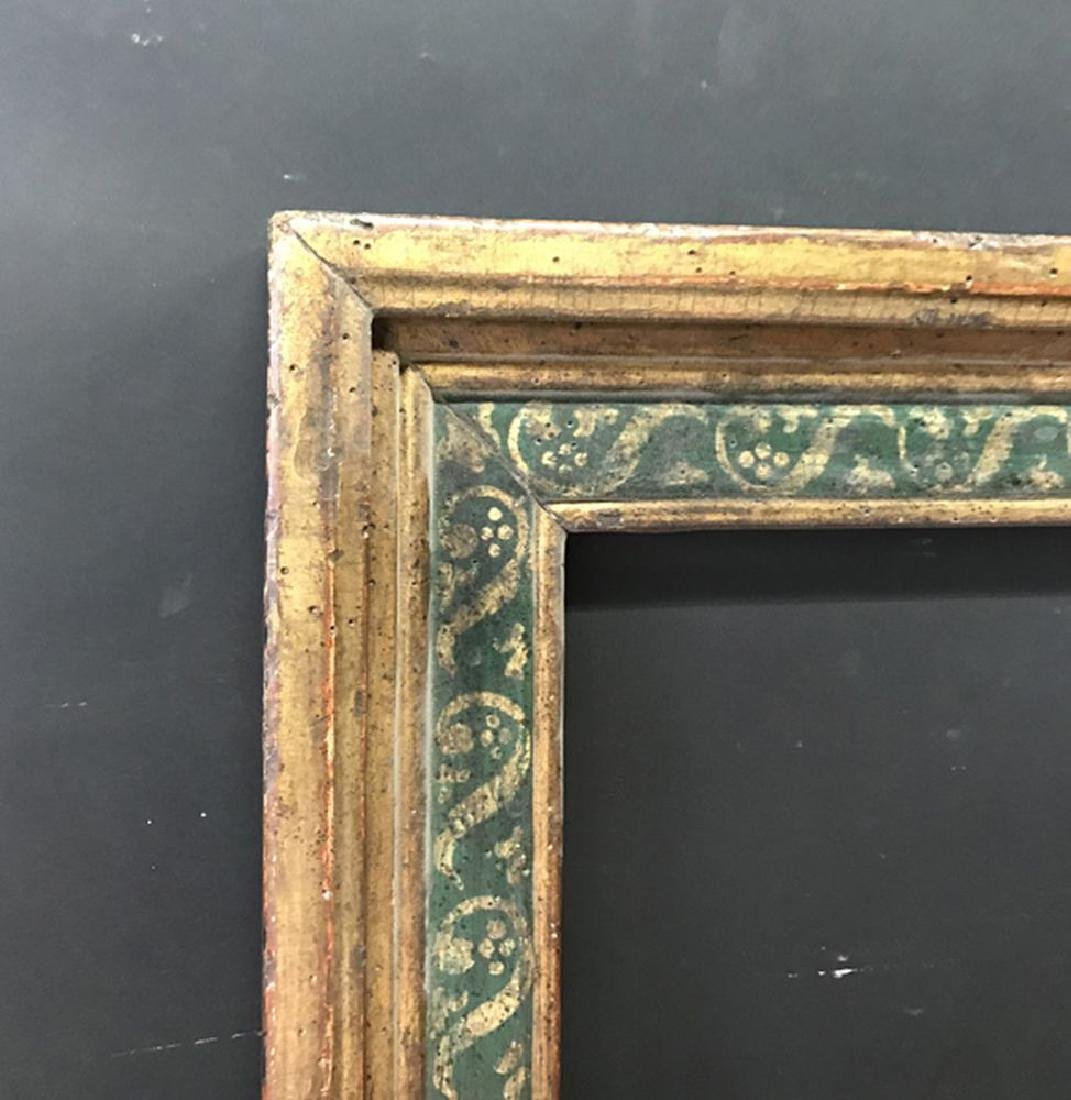 20th Century English School. A Gilt and Painted Frame,