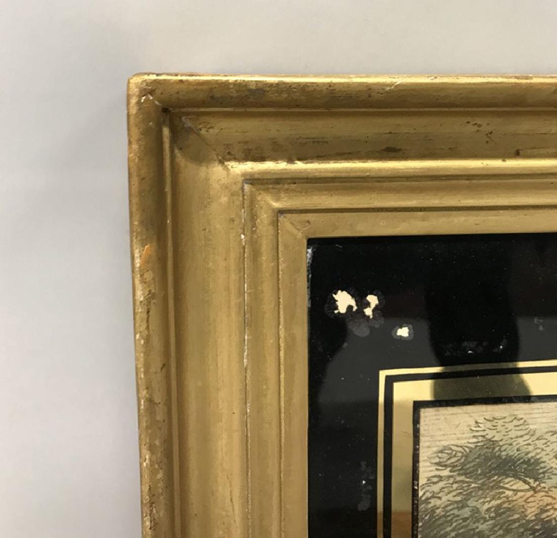 19th Century English School. A Hollow Gilt Frame, (with