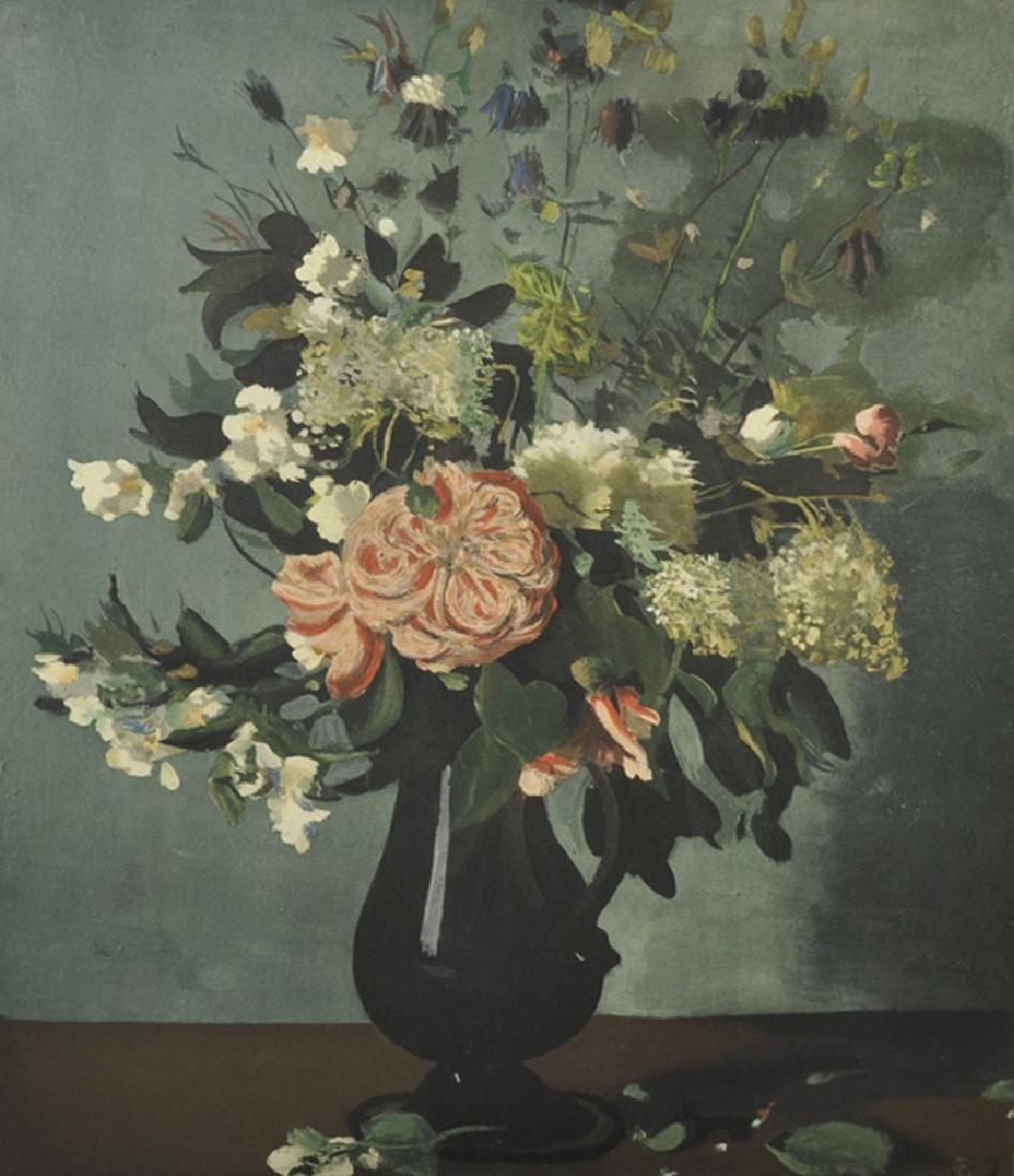 """Andre Derain (1880-1954) French. """"Vase de Fleurs"""","""